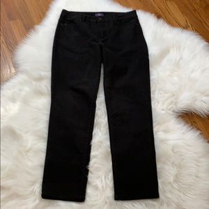 NYDJ Jeans - NYDJ Alisha Strech Skinny Ankle Jeans in Black
